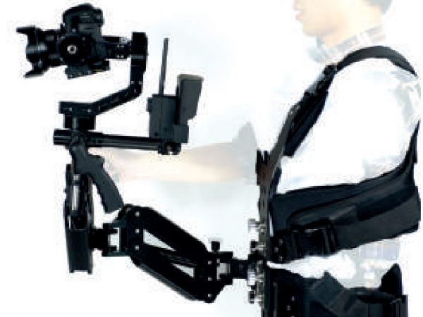 The GAZER Steadicam mounting solution