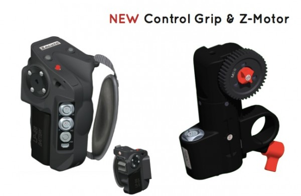 Zacuto contol grip and motor