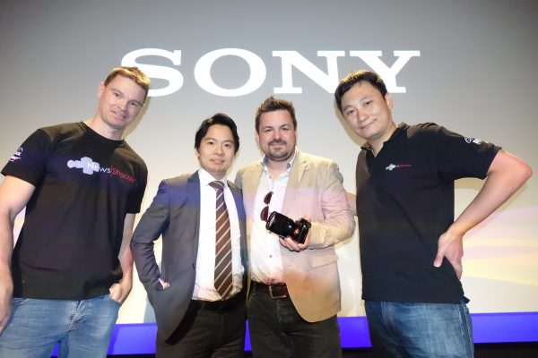 The Newsshooter team talk to Sony's Kanta Yamamoto and DP Den Lennie