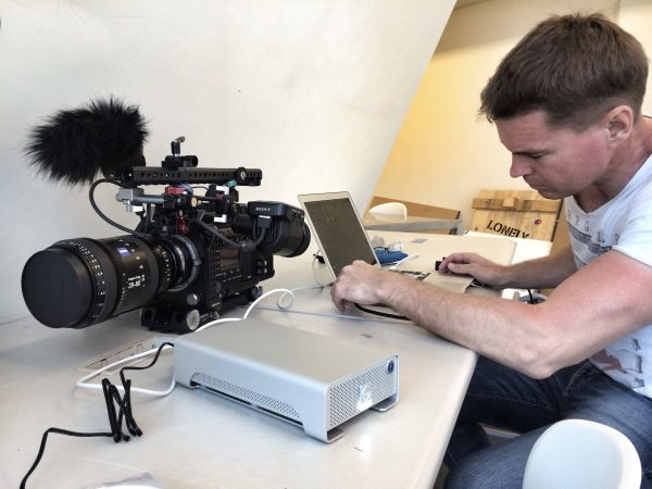 Working On A Shoot In Hong Kong With The F55 And New G Technology