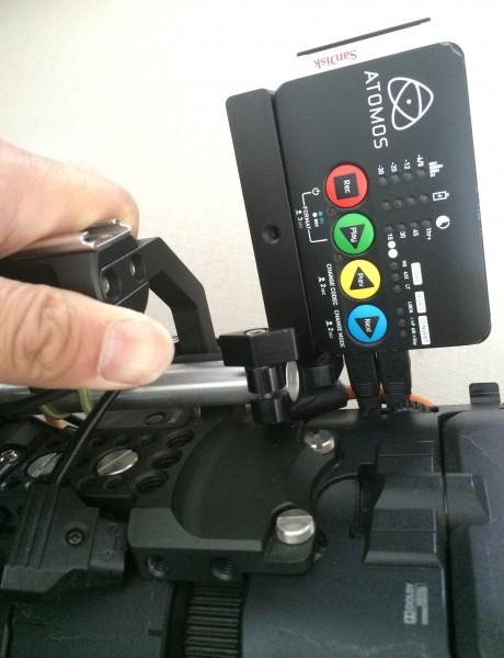 Ninja Star with Sony FS700 and Movcam rig