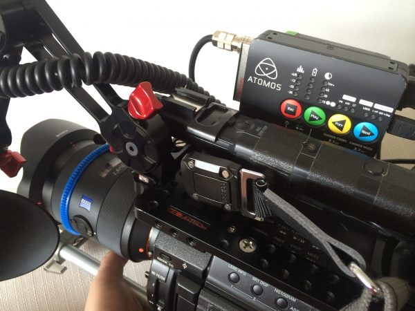 The Ninja Star on a Sony F3