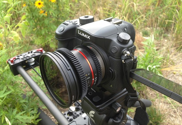 The Panasonic GH4 - Photo by Chuck Fadely