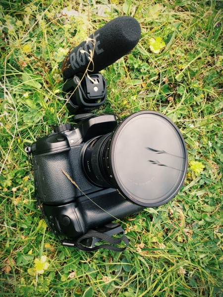 The GH4 kit in the field