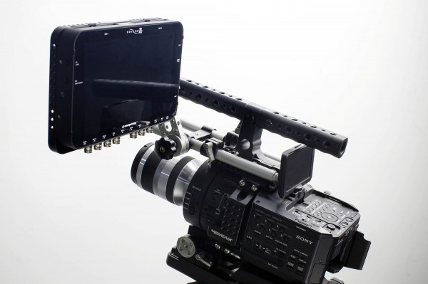 The Odyssey 7Q recorder on a Sony FS700 - now capable of 4K compressed recording