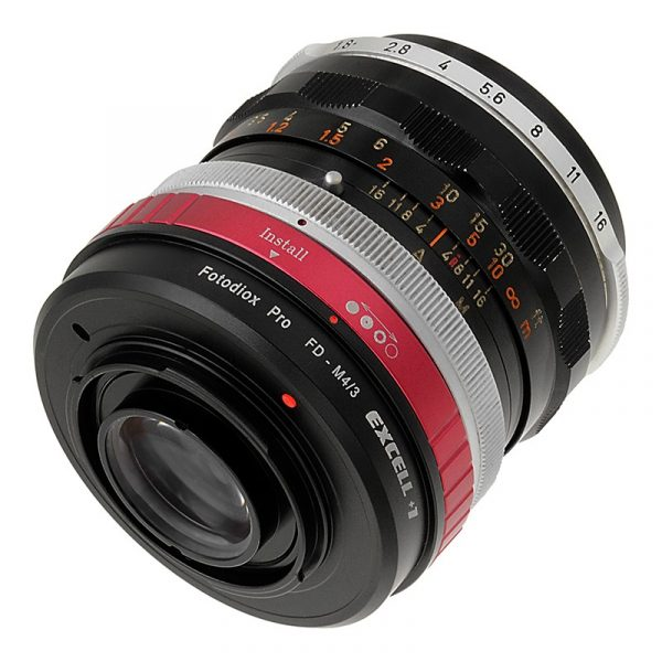 The Canon FD version of the Excell +1 (not all FD lenses are compatible)