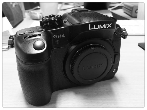 The Panasonic Lumix GH4