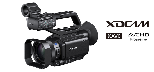 Sony launch PXW-X70 – a '4K ready' compact XDCAM professional camcorder with 1 inch sensor