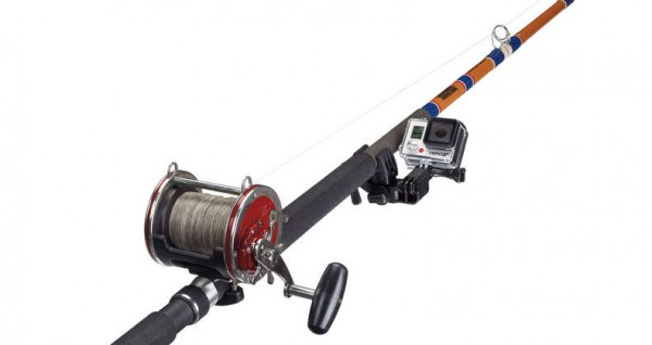Gopro gets new sportsman mount attach the camera to guns for Gun fishing rod
