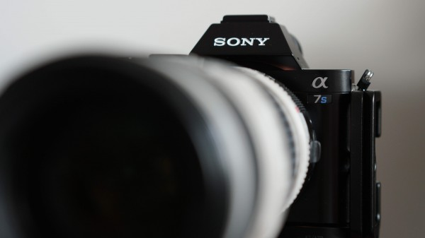 """The 'B"""" camera with Canon 70-200 f4L lens"""