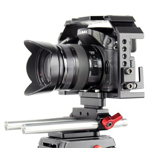 The optional 15mm rod adapter for the Honu