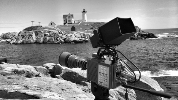 The Photron BC2 HD high-speed camera on location