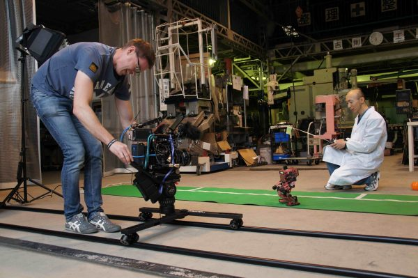 Working with the F55 on the Wally Dolly