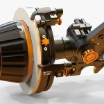 IBC 2014 video: Bright Tangerine Revolvr Follow Focus, Black Hole lens donut and matte box tilt module