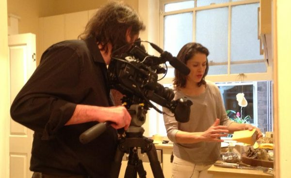 Shooting with the FS7 in the kitchen