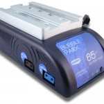 IBC 2014 video: Blueshape Bubblepack battery for mounting under a DSLR or camcorder