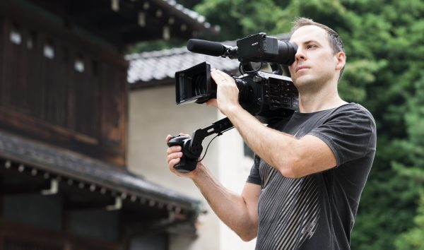The FS7 is designed with handheld operation in mind