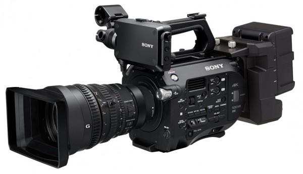 Nytt 4K, super35 Sony kamera, PXW-FS7