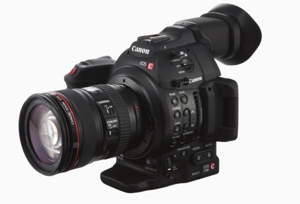 The Canon C100 markII