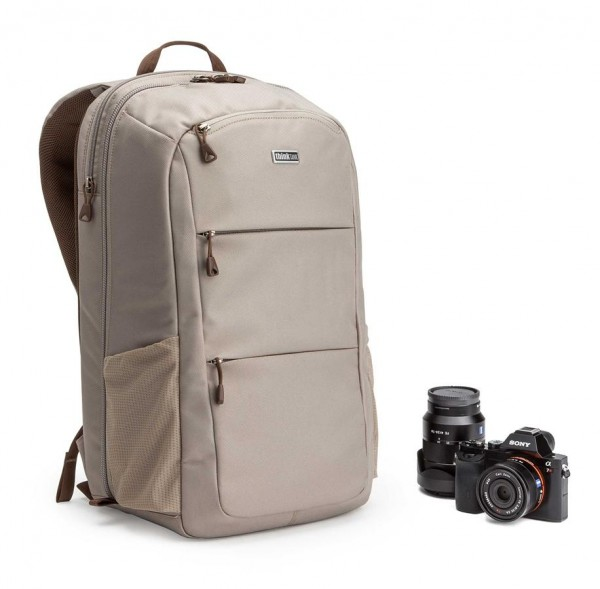 The Perception Pro backpack in taupe