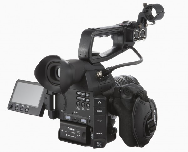The styling of the C100 mark II is very familiar