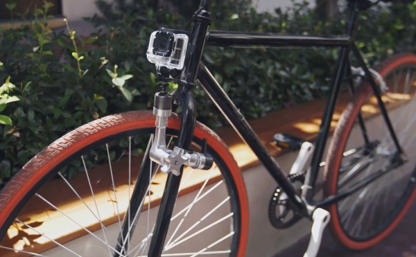 Using the Infinity arm to mount a GoPro