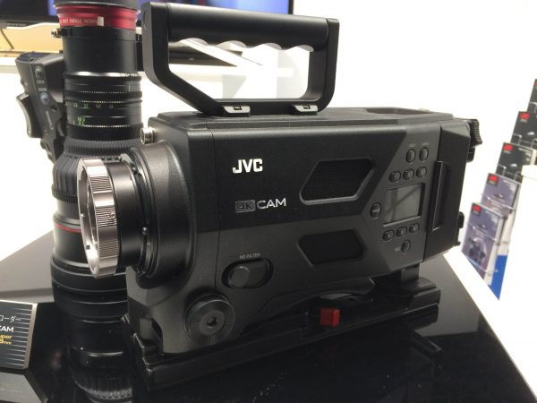 JVC's PL mount 4K camera prototype