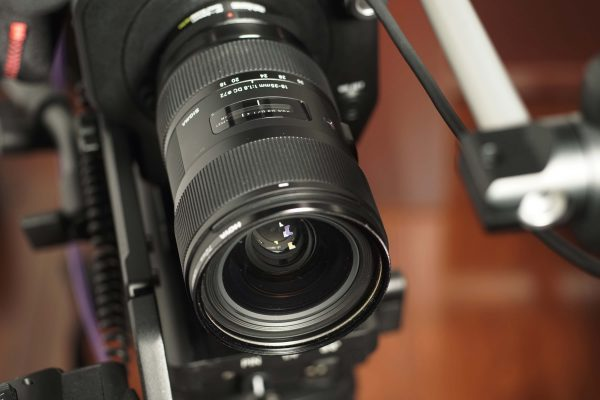 The original stills version of the Sigma 18-35mm f1.8