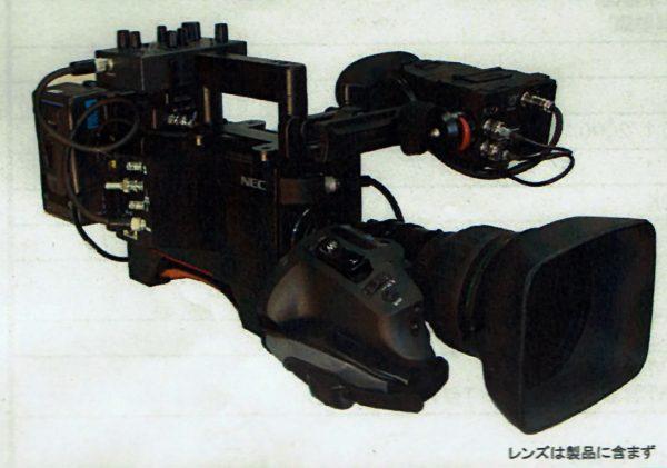 NC-H1200P has a traditional ENG camera design