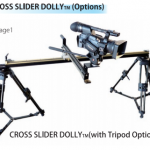 Inter BEE 2014: Cinemax spiral slider dolly with lift, swivel and forward and backwards motion