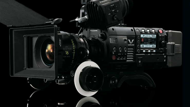 Panasonic VariCam Custom Splash Screen to deter camera theft