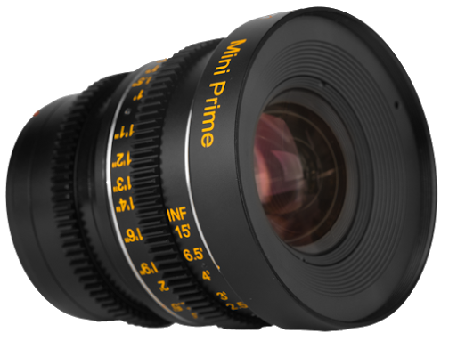 The existing M4/3 Veydra Mini Prime - a new version will soon be available with E-mount