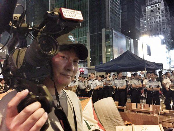 On assignment in Hong Kong with the FS7