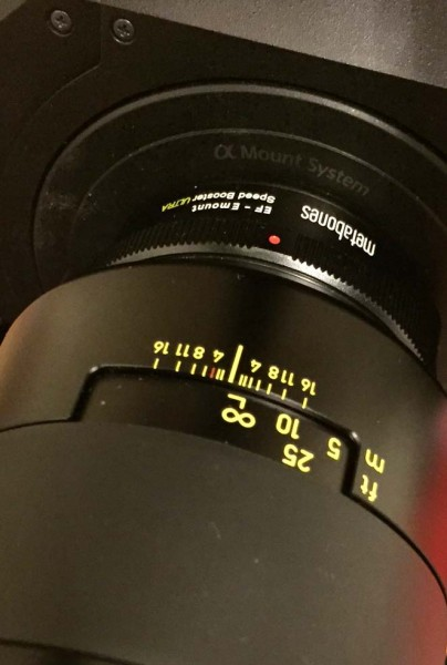 Beware of the Metabones EF to E-mount Speedbooster and the FS7