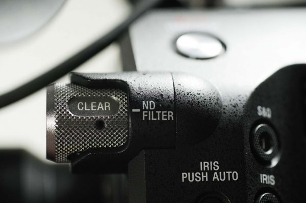 ND filters control is well placed