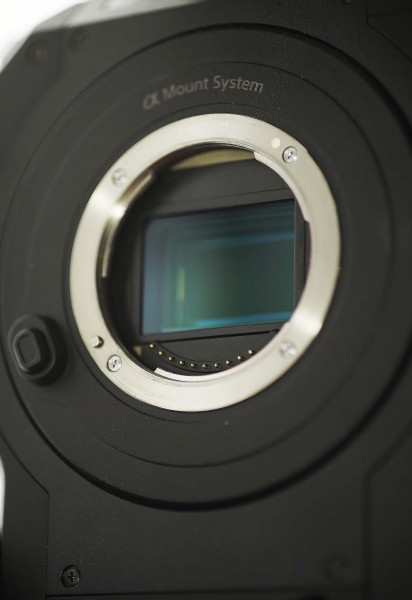 The FS7 low pass filter is optimised for 4K and is not interchangable