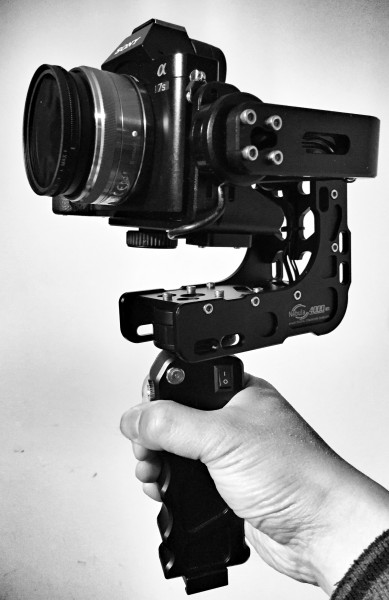 The Filmpower Nebula 4000 Lite brushless gimbal