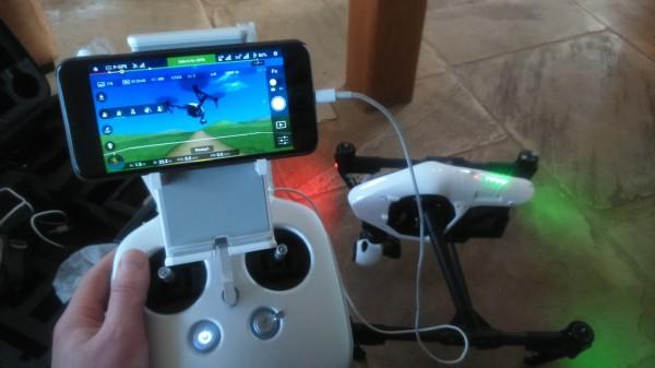 The Inspire 1 flight simulator