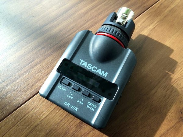The Tascam DR-10X