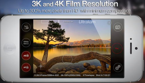 4K recording on your iPhone 6 or 6+