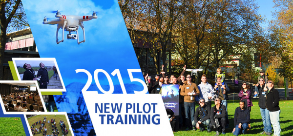 DJI new pilot training
