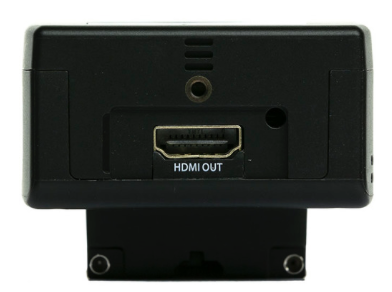 The HDMI output