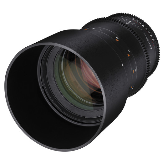 The Rokinon 135mm T2.2 lens