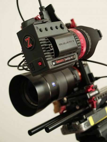 The control buttons on the side of the camera will be labelled in the final production version