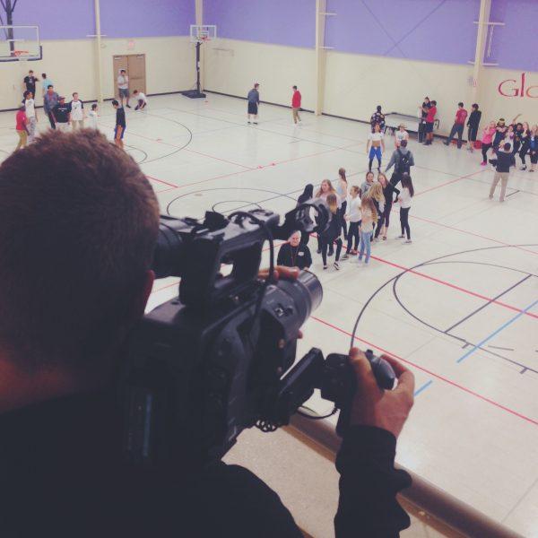 Shooting Dodge Ball with the FS7