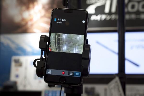 Control your camera via a smartphone to tablet app