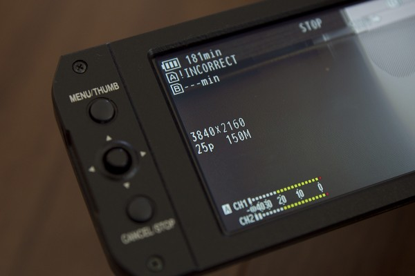 You need a UHS-I 3 Class 10 card to record 4k UHD internally