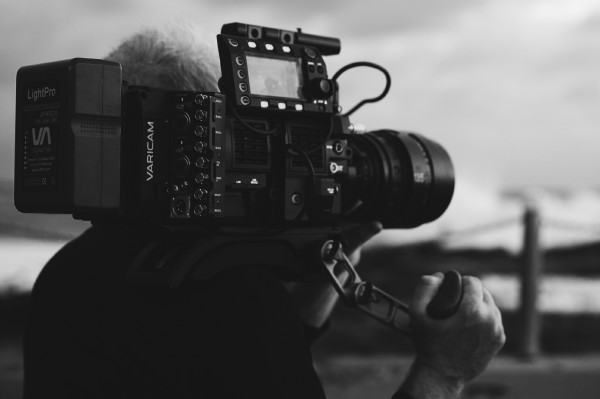 Although not a lightweight the Varicam 35 is well balanced on the shoulder