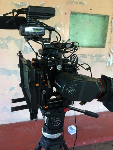 Using the Revar Cine with a 12mm Zeiss Touit lens.