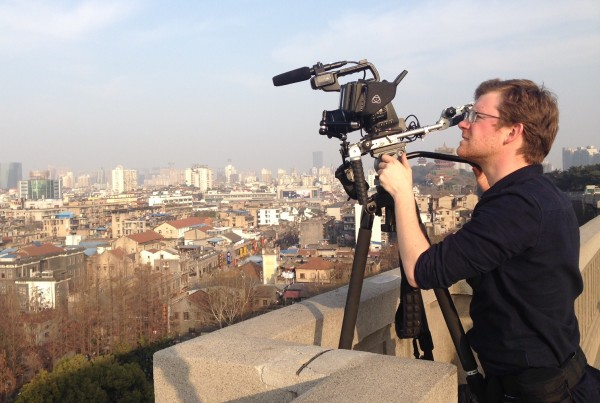 On location with my C100 kit